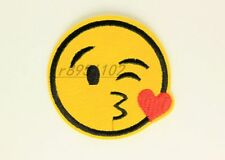 2.48 in kawaii LOVE Emoticon Iron on Patches Embroidered Badge Applique patch