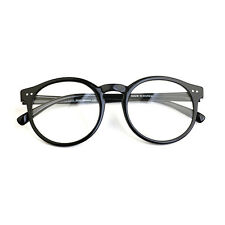 1920s Vintage oliver retro eyeglasses 41R82 Black round kpop peoples frames