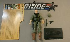 GI Joe 25th MODERN STEELER Action figure with FILE CARD