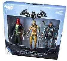 DC ARKHAM ORIGINS 75 YEARS OF BATMAN 3-PACK COPPERHEAD DEATHSTROKE RED HOOD SET