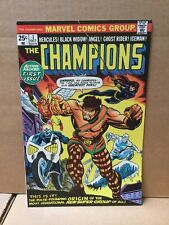 Champions #1 (1975) NM 1st Appearance of The Champions
