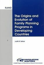 Origins and Evolution of Family Planning (Population Matters), Seltzer, Judith R