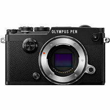 Olympus PEN-F Mirrorless Digital Camera (Black Body)- Olympus Authorized Dealer!