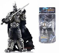 "WOW WORLD OF WARCRAFT/FIGURA WRATH THE LICH KING ARTHAS MENETHIL 18 CM/7"" IN BOX"