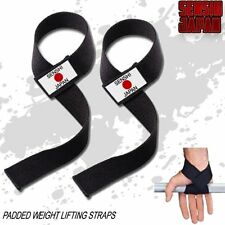 Weight Lifting Hooks Cotton Weight Lifting Straps Padded Wrist Straps Wraps