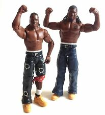 "WWF WWE TNA Wrestling Cryme Tyme Tag Team Mattel 6"" action figure toy RARE!"