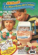 X0043 Tre minuti la macchina del gelato - GIG - Pubblicità 1992 - Vintage Advert