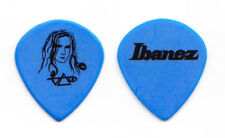 Steve Vai Signature Hieroglyph Blue Guitar Pick - 2005 Real Illusions Tour