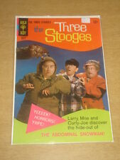 THREE STOOGES #38 FN (6.0) GOLD KEY COMICS MARCH 1968