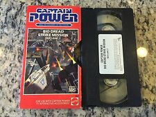 CAPTAIN POWER & THE SOLDIERS OF THE FUTURE BIO DREAD STRIKE MISSION LEVEL 2 VHS!