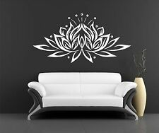 Lotus Wall Decal Vinyl Sticker Decals Art Decor wall decal Eye Indian Buddha