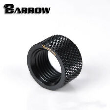 "Barrow G1/4"" Matte Black Dual Female Extender Fitting - 10.5mm Watercooling -79"