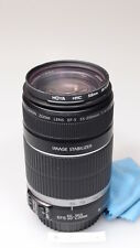 CANON EF-S 55-250mm 4-5.6 IS IMAGE STABILIZER LENS EXCELLENT