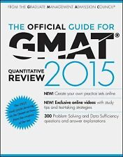The Official Guide for GMAT Quantitative Review 2015 with Online Question Bank a