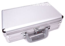 COMBINATION LOCKABLE ALUMINIUM HARD DOUBLE GUN PISTOL CASE box flight
