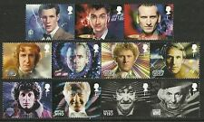 2013 DR WHO NEW ISSUE. SUPERB UNMOUNTED MINT SET X 11.