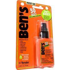 Ben's 30 Tick & Insect Repellent Pocket Spray 30% Deet