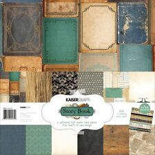 "Kaisercraft 12""x12"" Collection Story Book (12 papers & 1 sheet stickers)"