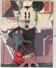 Disney Fine Art Jim Salvati All Blocked In Giclee On Canvas Limited Ed.