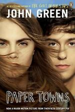 Paper Towns by John Green (2015, Paperback, Movie Tie-In)