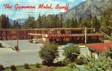 1965 THE GAMMON MOTEL in the Centre of BANFF, ALBERTA CANADA