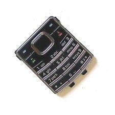 100% original Nokia 6500 Clásico teclado numérico llaves botones Negro 6500c
