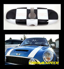 2004-2013 MINI Cooper/S/ONE/Countryman/Clubman Rear View MIRROR Cover Chequered