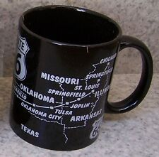 Coffee Mug Explore America Route 66 map  NEW 12 ounce cup with gift box