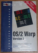 OS/2 Warp Version 3 Benutzerhandbuch Original-Version NEU noch eingeschweißt