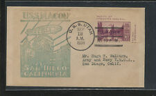 US   USS   Macon  airship  cover  cachet   1934              MS0817