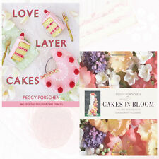 Peggy Porschen Baking Collection 2 Books Set(Love Layer Cakes,Cakes in Bloom)