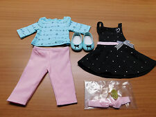 NIB~ American Girl of the Year Grace Thomas Baking Outfit~ GOTY 2015  *New*