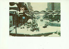 SEMI MALL DOWNTOWN SHERBROOKE IN WINTER, QUEBEC, CANADA POSTCARD