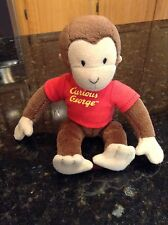 Vintage Curious George monkey small plush stuffed animal