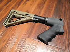 Mesa Tactical & Magpul Stock Kit Pardner Pump Desert Tan Pistol Grip 6 Position