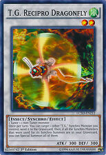 T.G. Recipro Dragonfly Common Yugioh Card LC5D-EN212