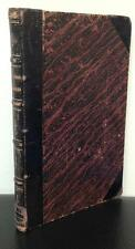 Tache Western Canada Travels 1866 Montreal Imprint Fine Binding Notre Dame