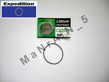 Replacement kit Rubber Gasket O-ring + CR2016 battery / Casio DW 210 240 260 270