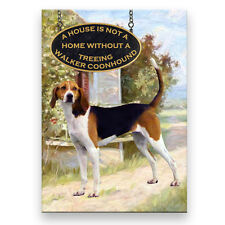 TREEING WALKER COONHOUND A House Is Not A Home MAGNET 1