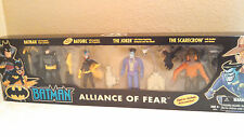 Batman Alliance Of Fear 4 Action Figure Pack # 70814 New In Box 2002 Hasbro