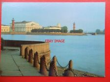 POSTCARD RUSSIA SAINT PETERSBURG - THE ENSEMBLE OF THE SPIT OF VASILYEVSKY ISLAN