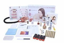 Nageldesign Nagelstudio Fernkurs Kurs Acryl Technik Set inkl. Nailtrainer