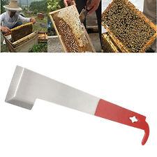 Beekeeper J-type J Shape Hive Tool Beekeeping Hook Equip Steel Scraper New