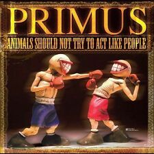 Primus: Animals Should Not Try to Act Like People DVD & CD)