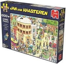 JUMBO JIGSAW PUZZLE THE ESCAPE JAN VAN HAASTEREN 1000 PCS CARTOON #19013