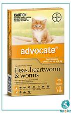 Advocate for Small Cats 0-4kg 3 Pack Orange Bayer