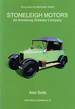 Stoneleigh Motors: An Armstrong Siddeley Company: The Rolls-Royce Heritage Trust