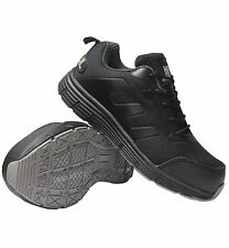 MENS NEW  ULTRA LIGHTWEIGHT STEEL TOE CAP SAFETY TRAINER SHOES WORK SIZE 7