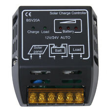 Protection Solar Panel Charger Controller Regulator 20A 12V/24V -20 to+60℃
