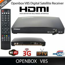 Openbox V8S Digital Freesat PVR Full HD TV Satellite Receiver Box Genuine USPlug